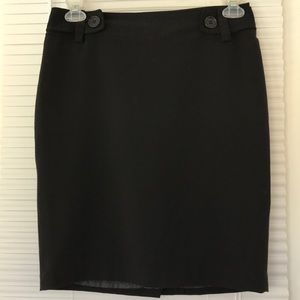The Limited Black Pencil Skirt Size 6